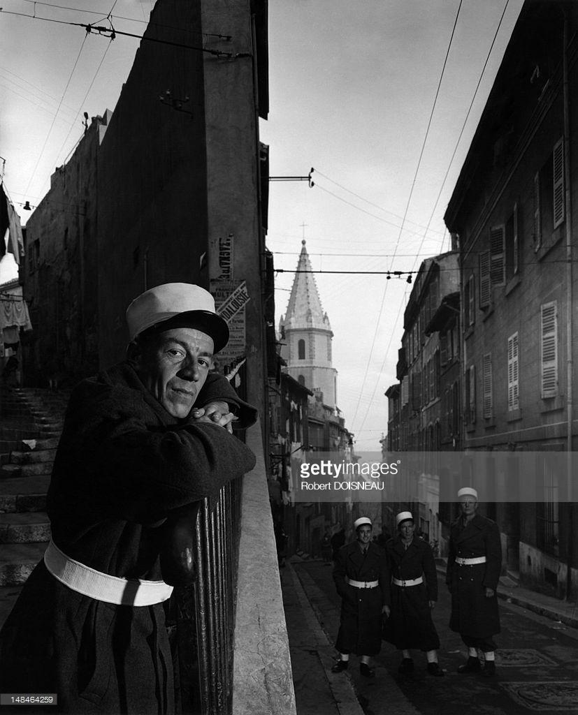 1951. Портрет легионера. Марсель