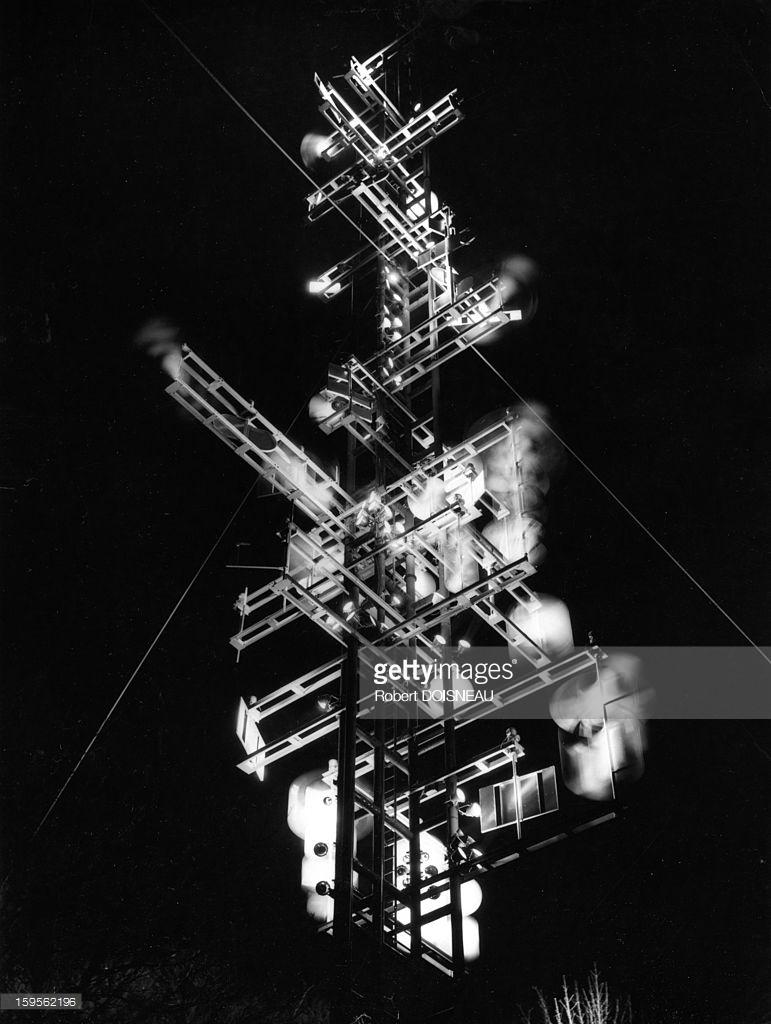 1962. Кибернетическая башня Николя Шеффера в Льеже, Бельгия