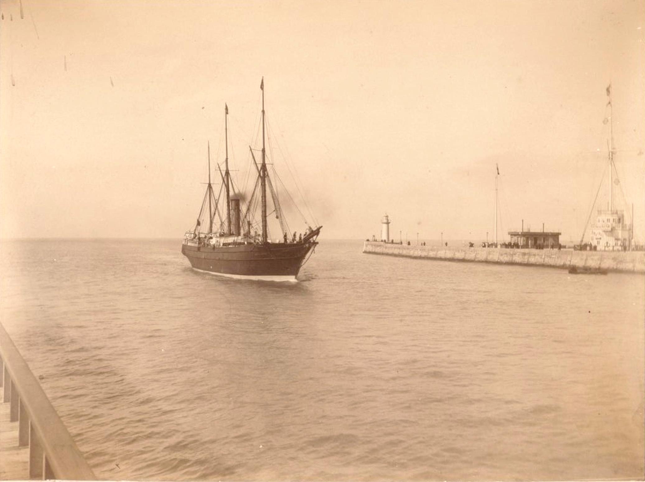 «Кунард Лайн». Пассажирское судно «Бритиш Куин»