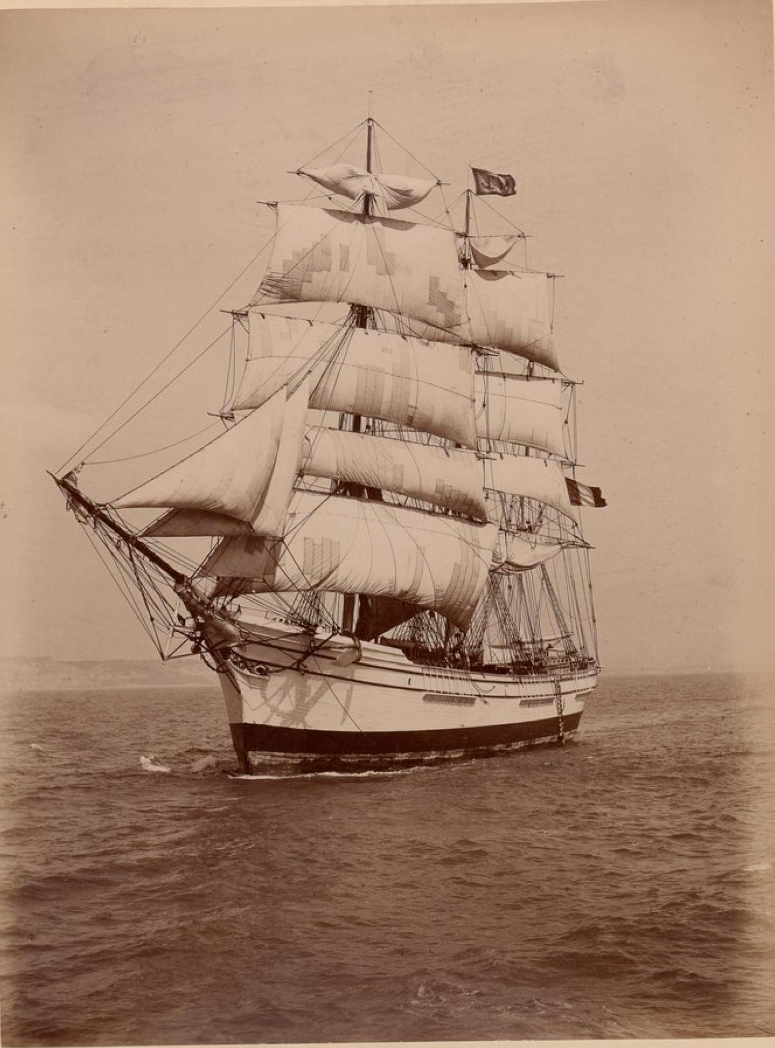 Исследователь морей, трехмачтовый барк