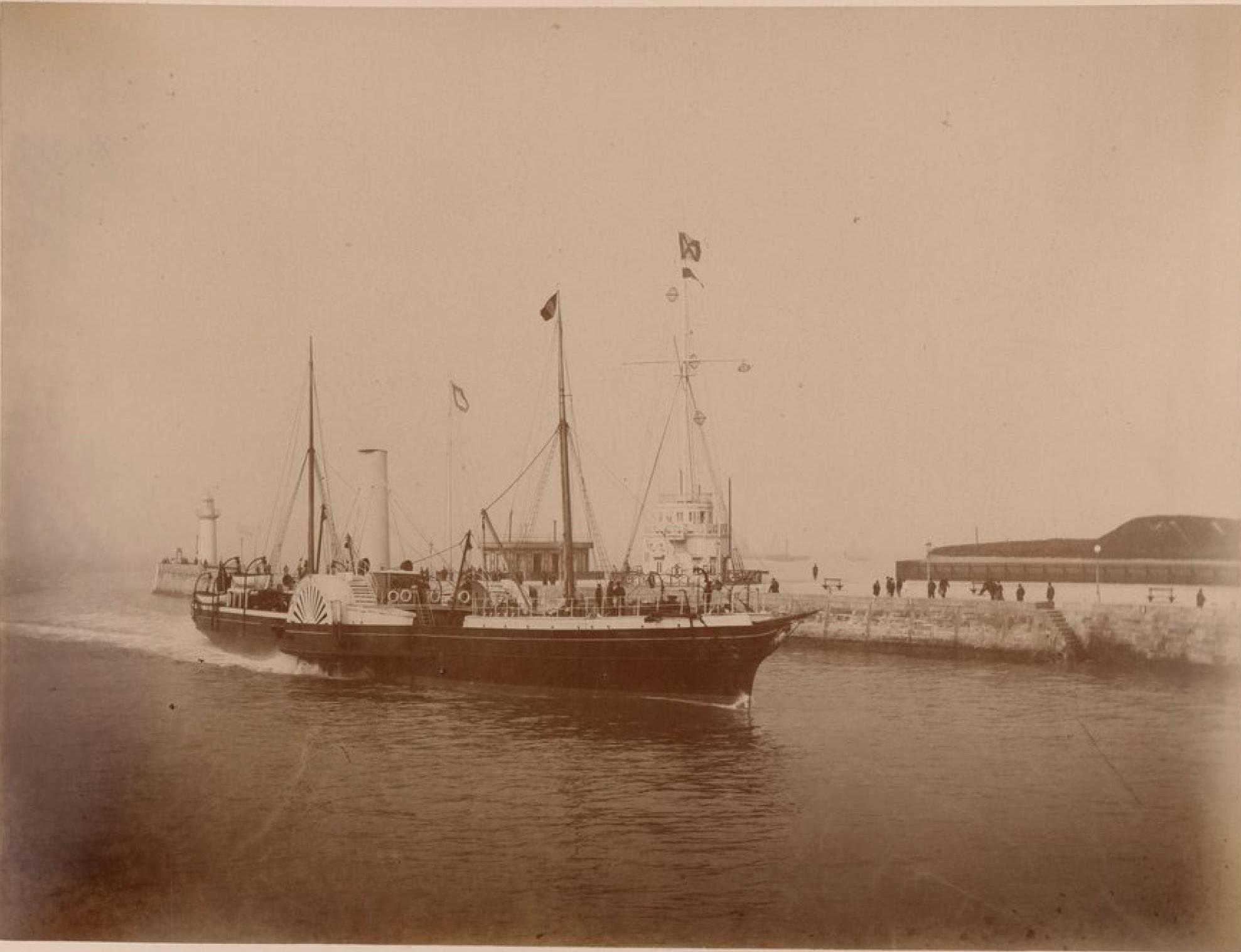 Саутгемптонская пароходная компания, Гавр, Судно «Саутгемптон» (2)