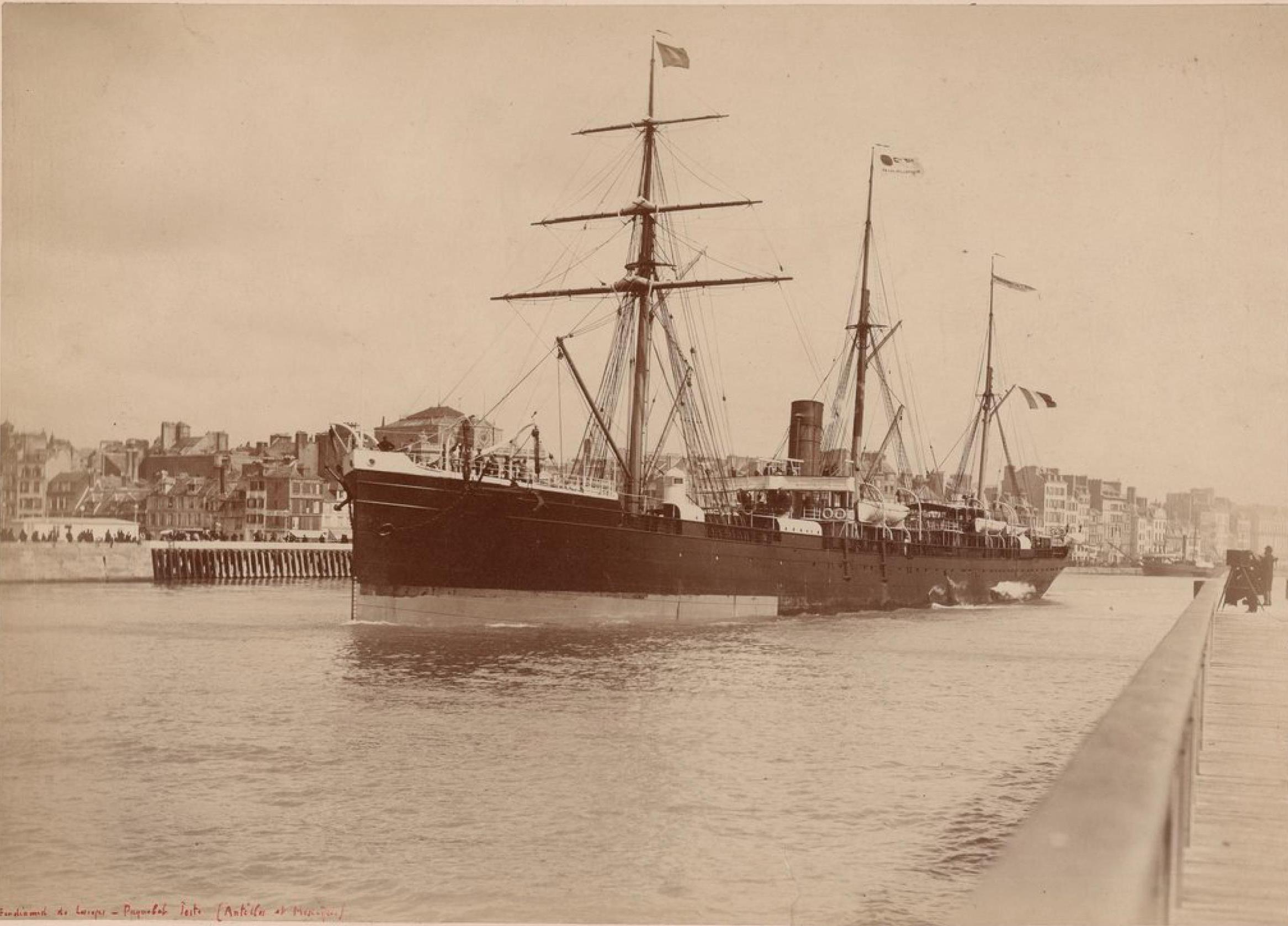Трансатлантическая компания, Фердинанд-де-Лессепс (Гавр), Пассажирский корабль (Вест-Индия и Мексика)