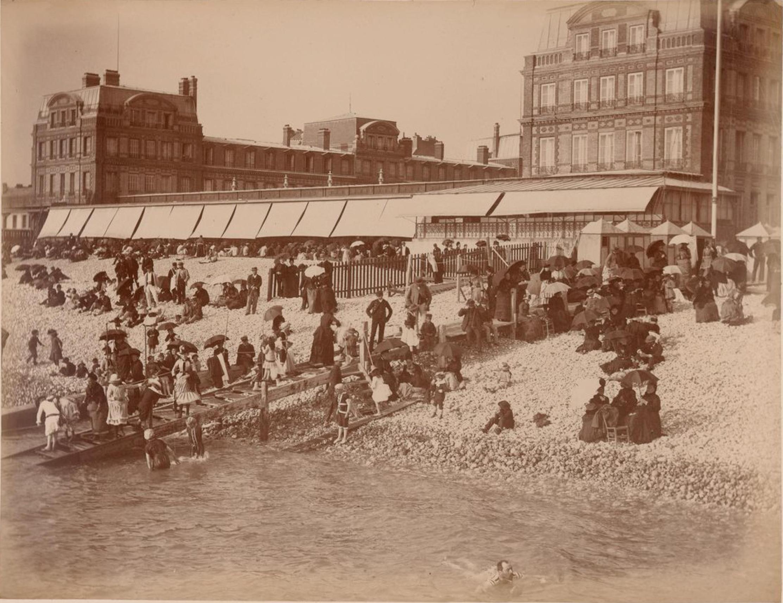 Фраскати. Пляж во время купания (3)