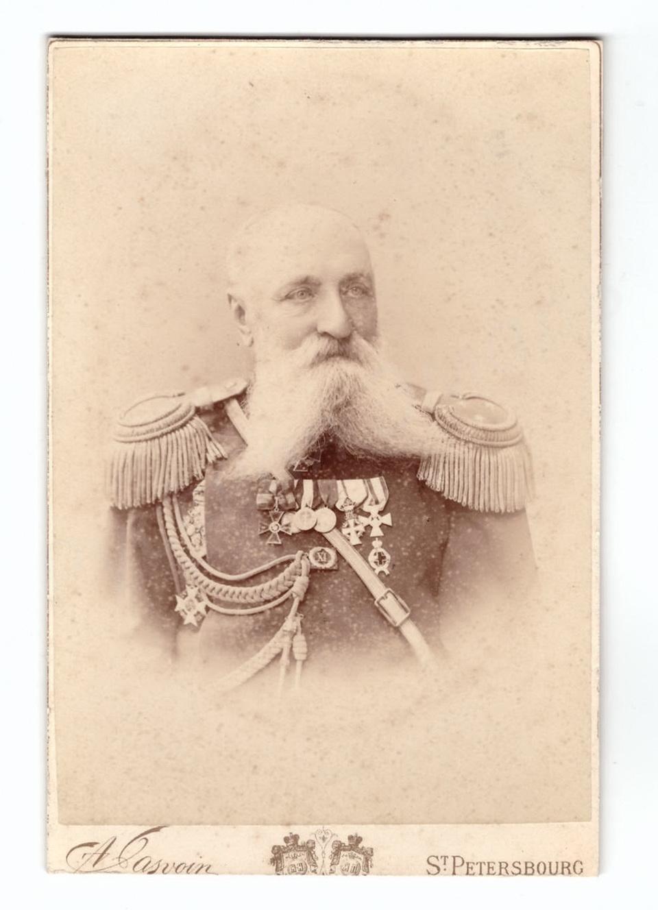 Генерал от кавалерии Александр Александрович фон Бильдерлинг