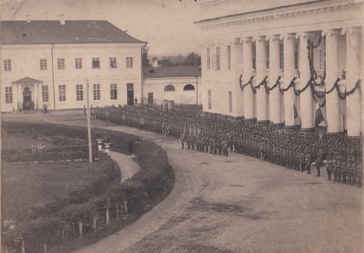 76-й пех.Кубанский полк на параде в Тульчине