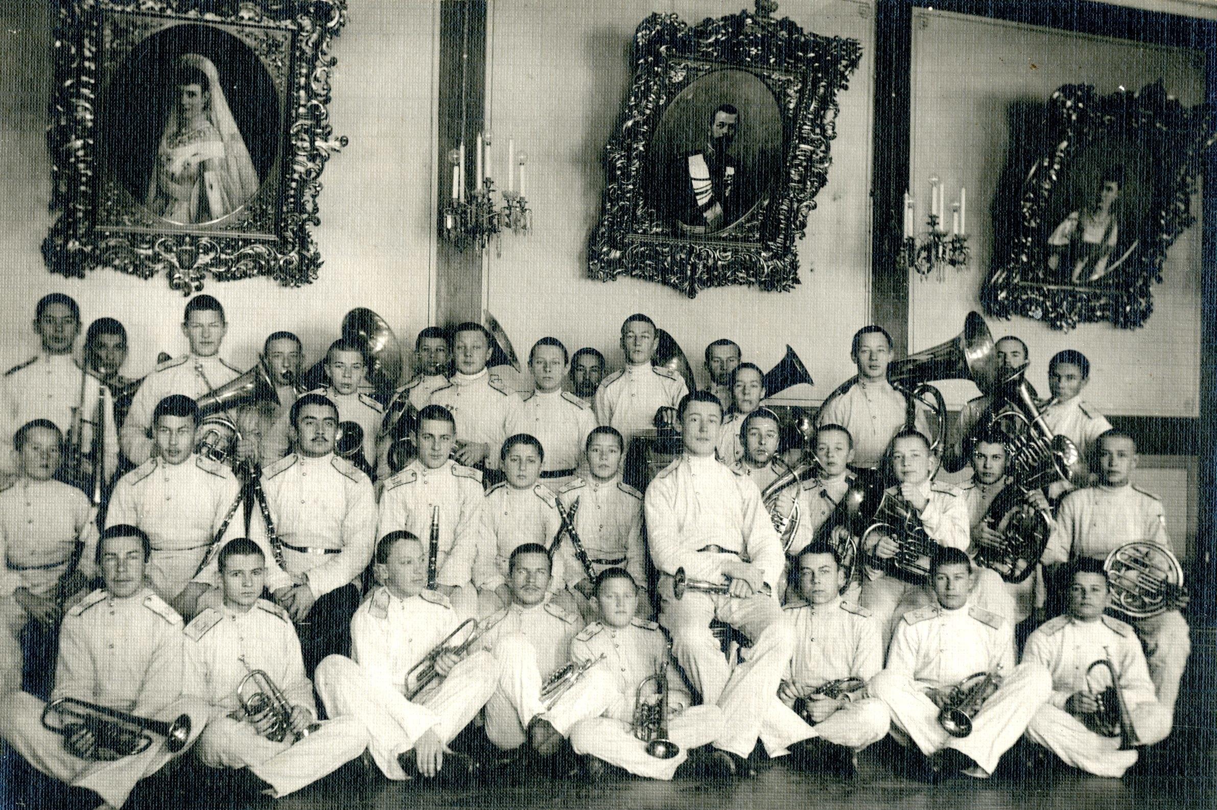Кадетский оркестр Омского кадетского корпуса