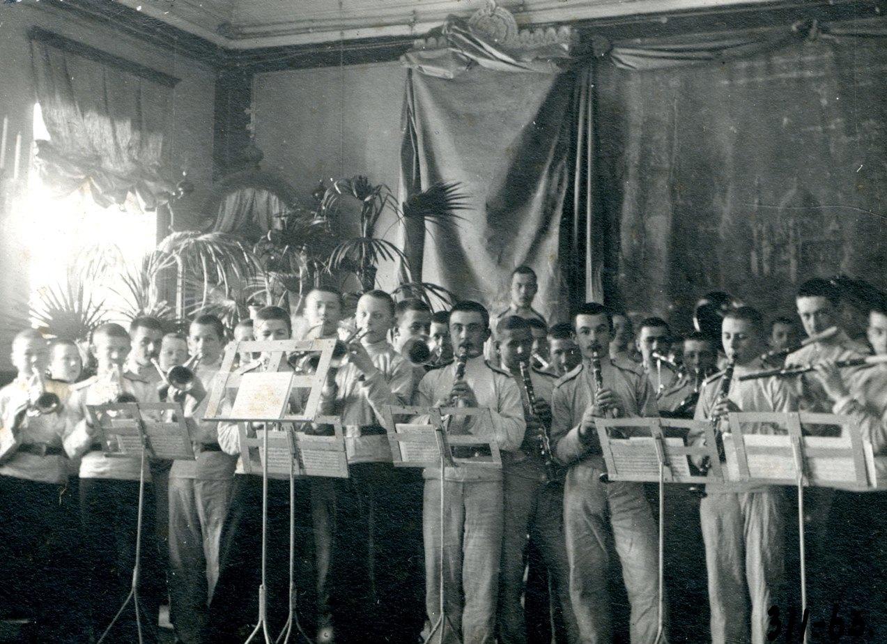 Кадетский оркестр Омского кадетского корпуса1