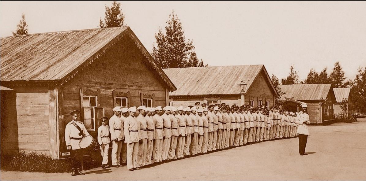 Лагеря Сибирского кадетского корпуса.