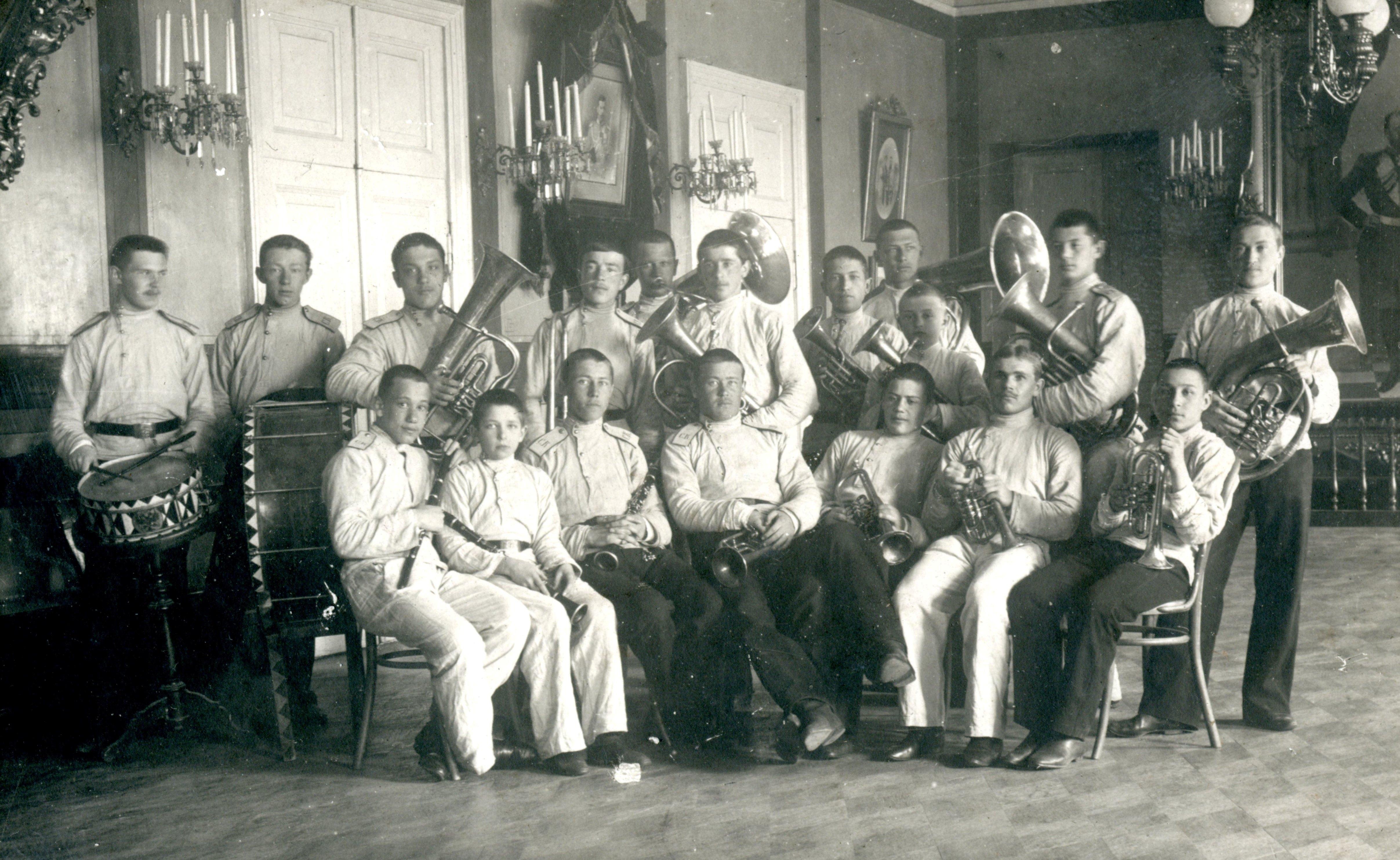 Оркестр Сибирского кадетского корпуса