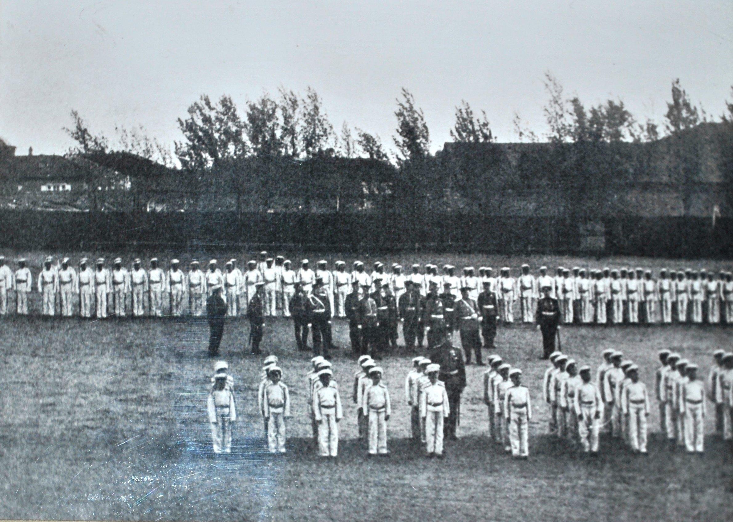 Фронтовое обучение кадет