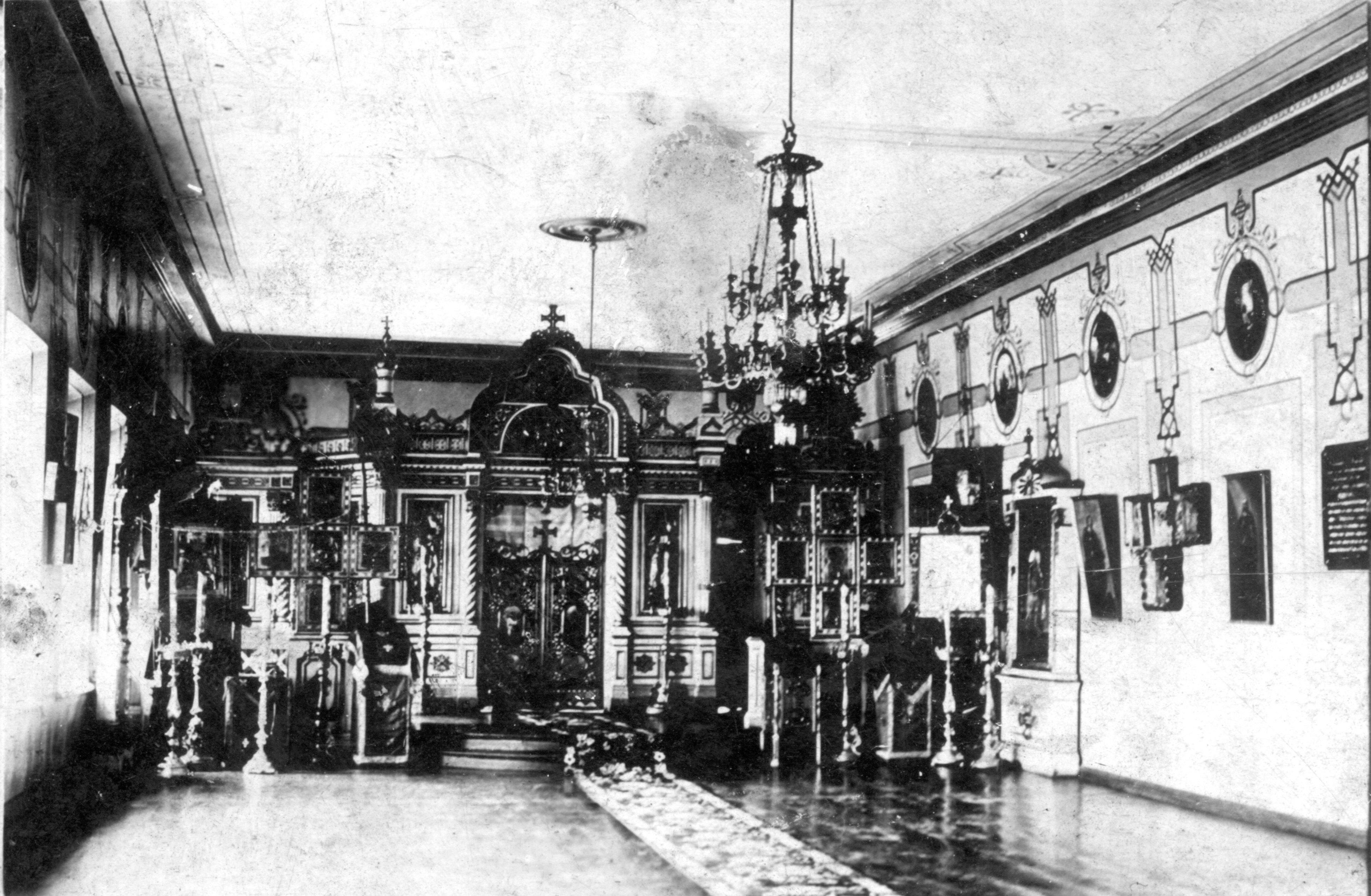 Церковь во имя Святителя Николая, Мирликийского чудотворца. Внутренний вид