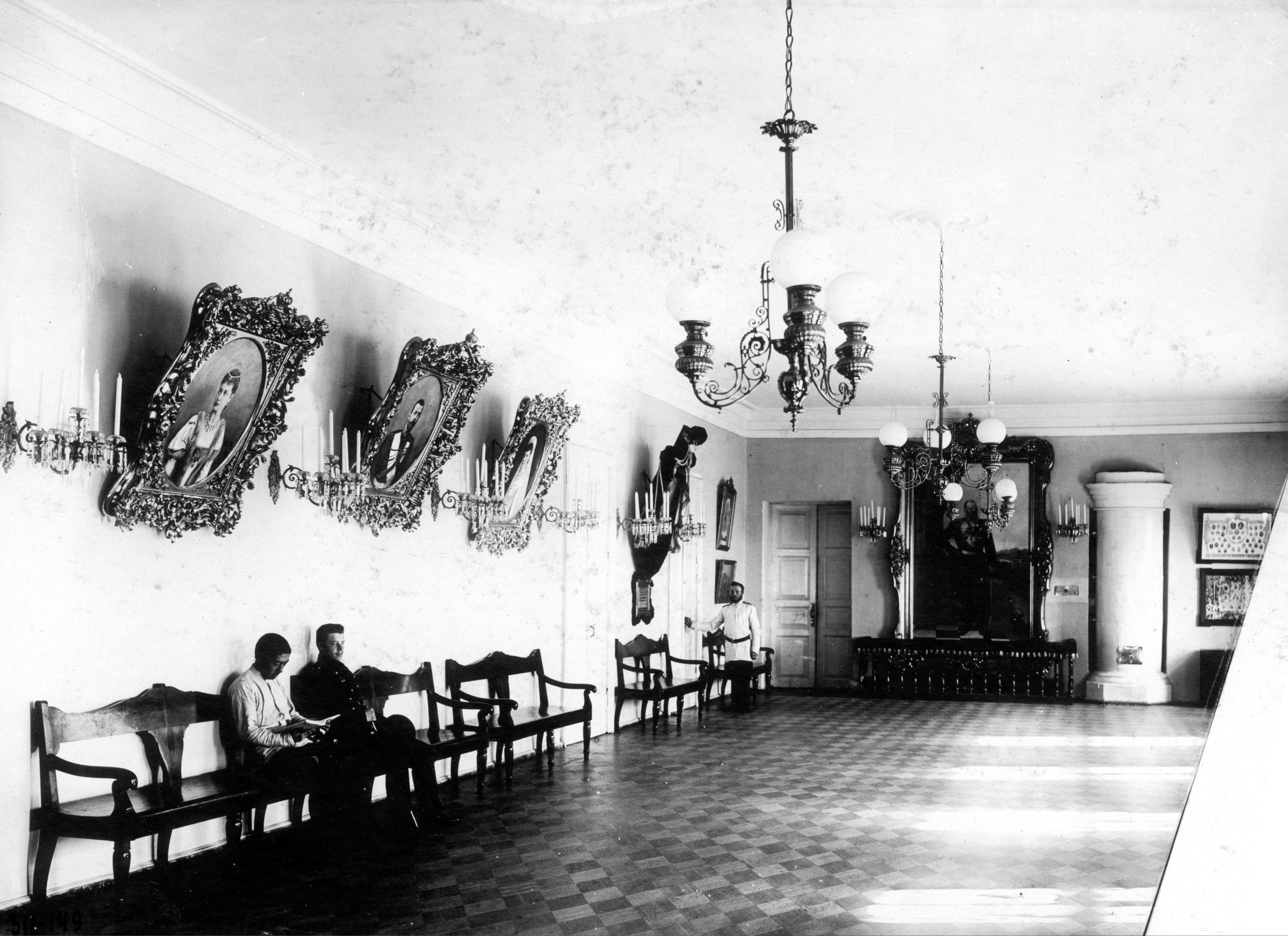 Зал кадетской роты