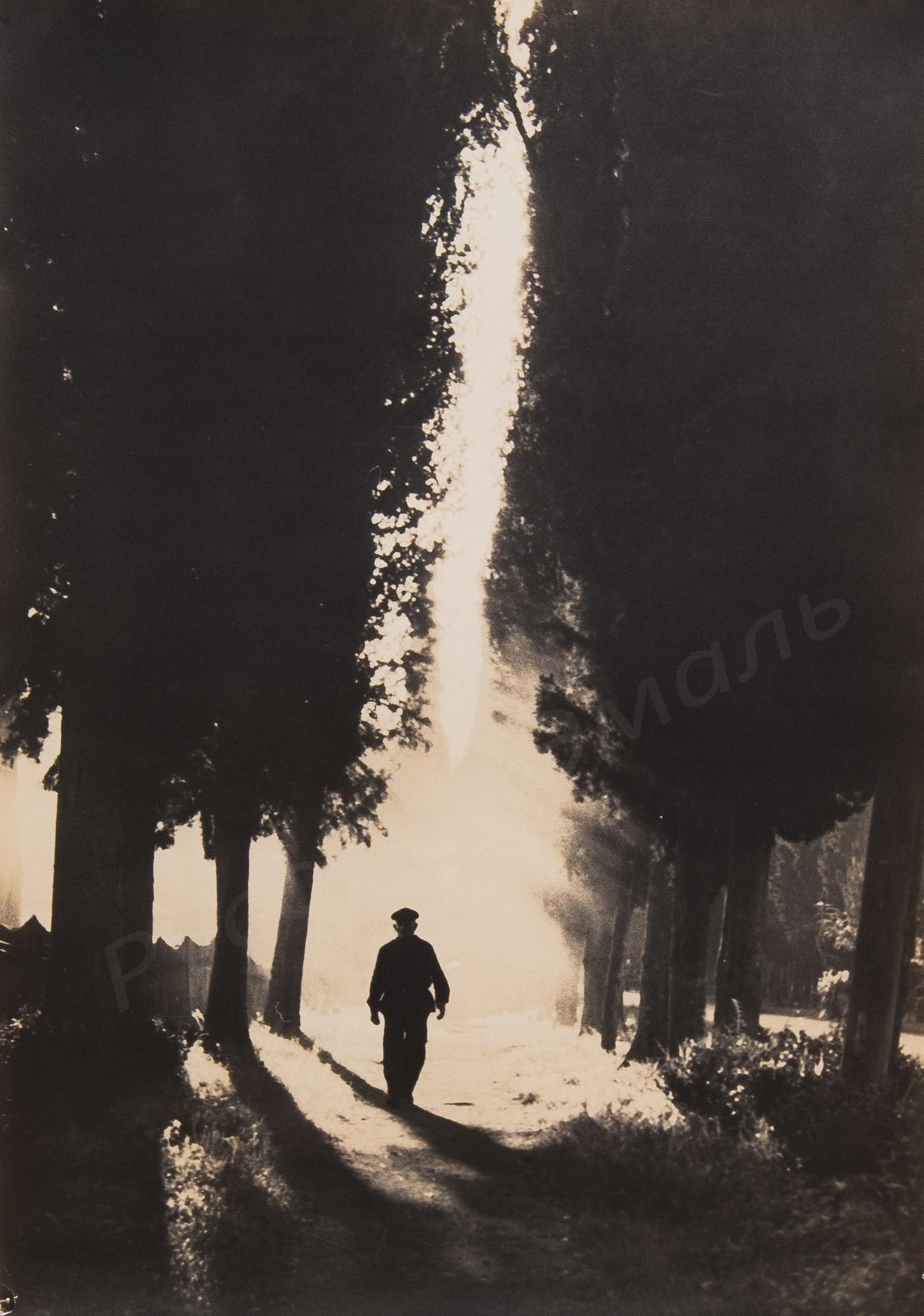 1950-е. Комовский А.Г. «Свет и тень»