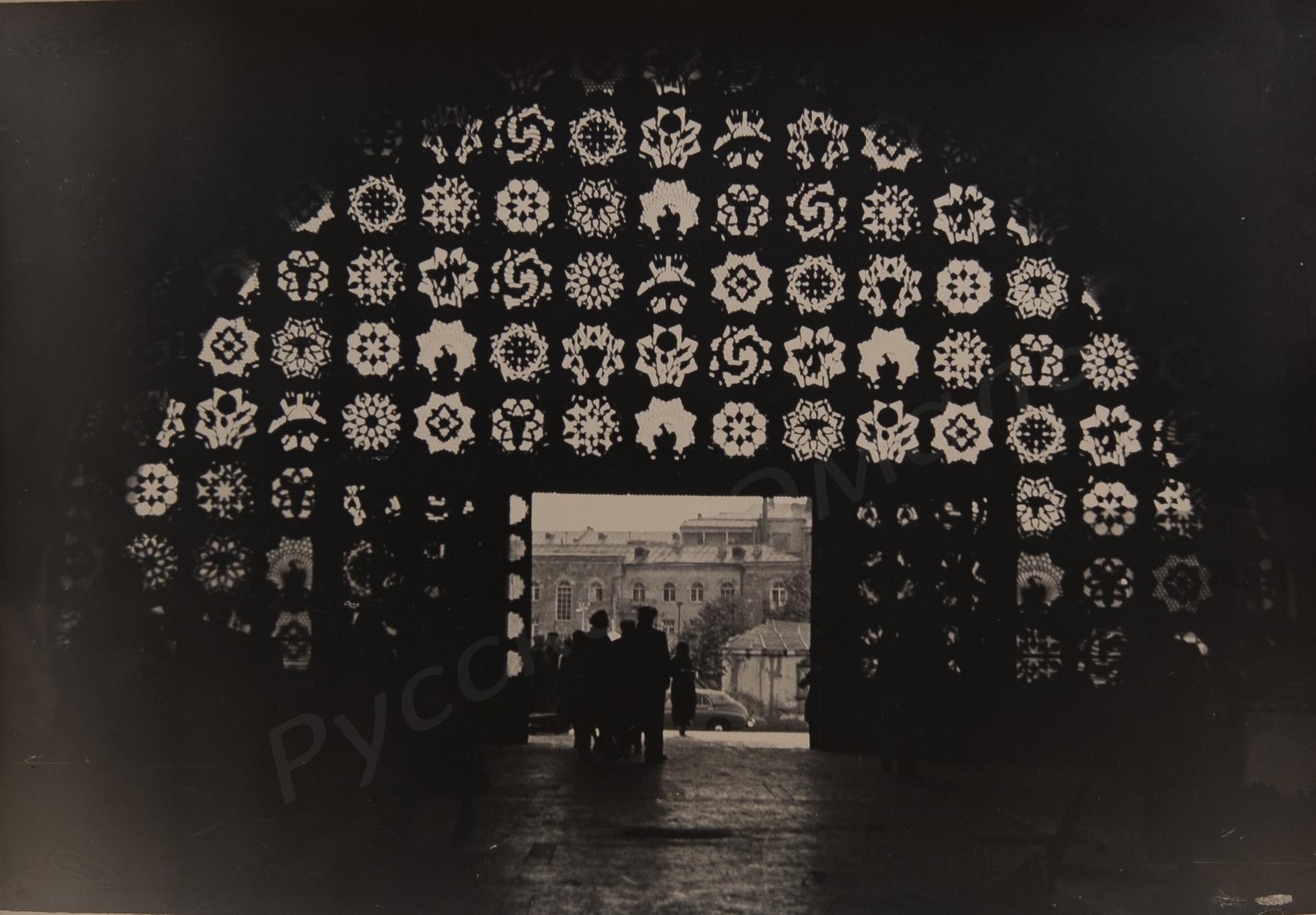 1950-е. Комовский А.Г. «Узоры»