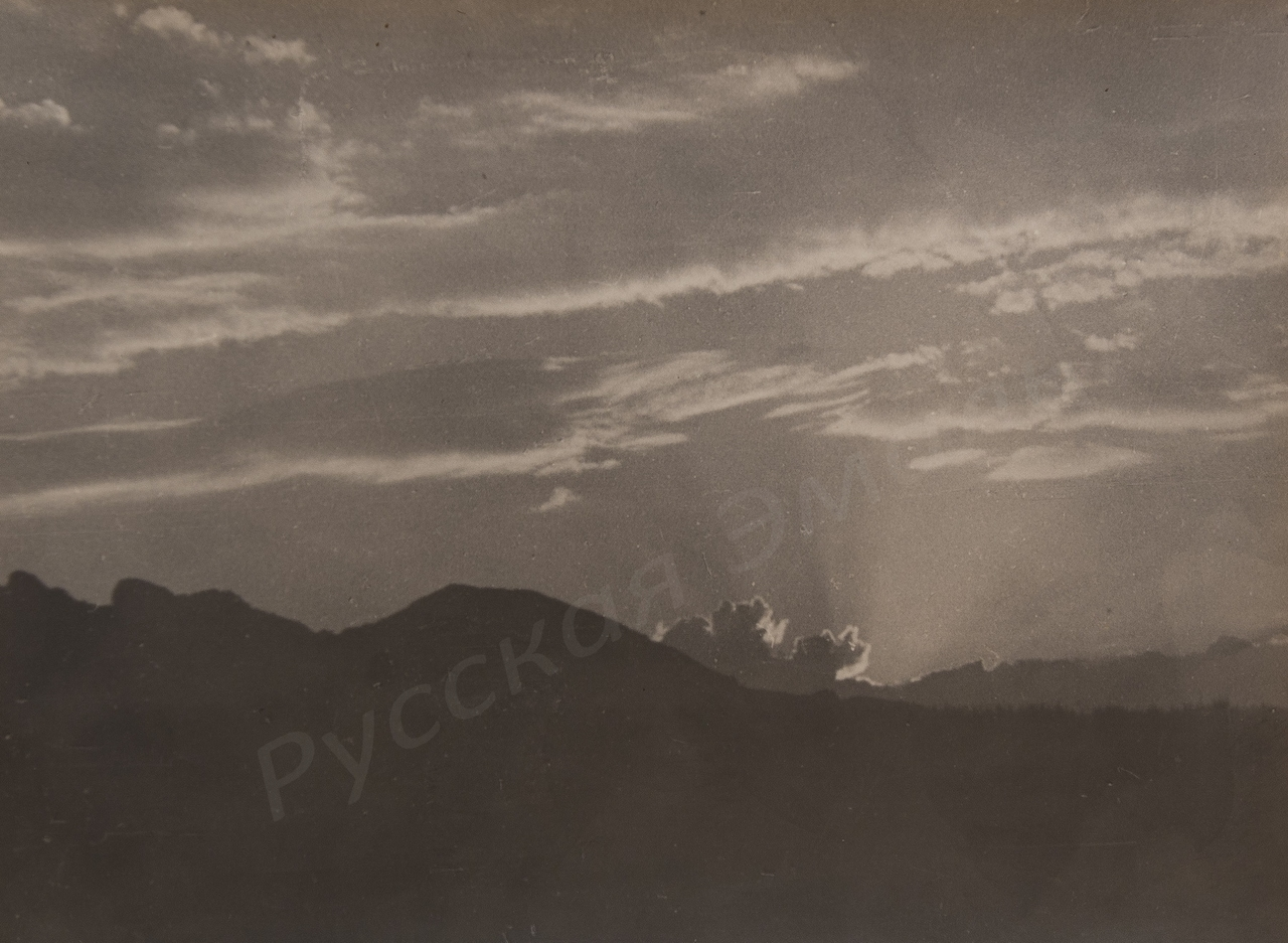 1960-е. Комовский А.Г. «Коктебель. Закат»