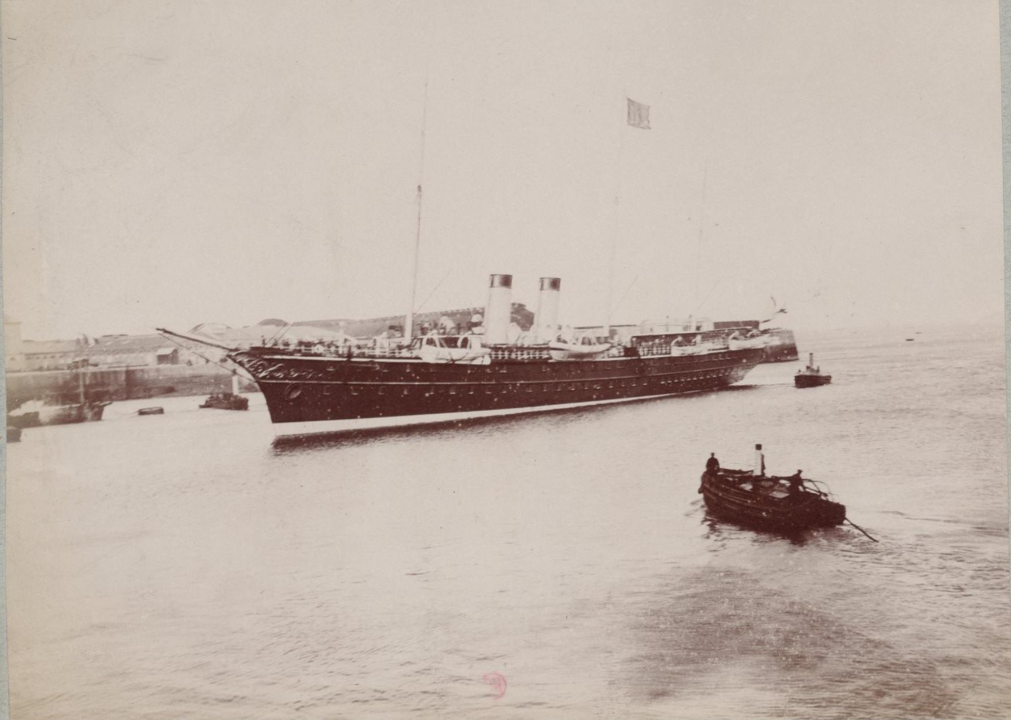 04.  Императорская яхта «Полярная звезда»