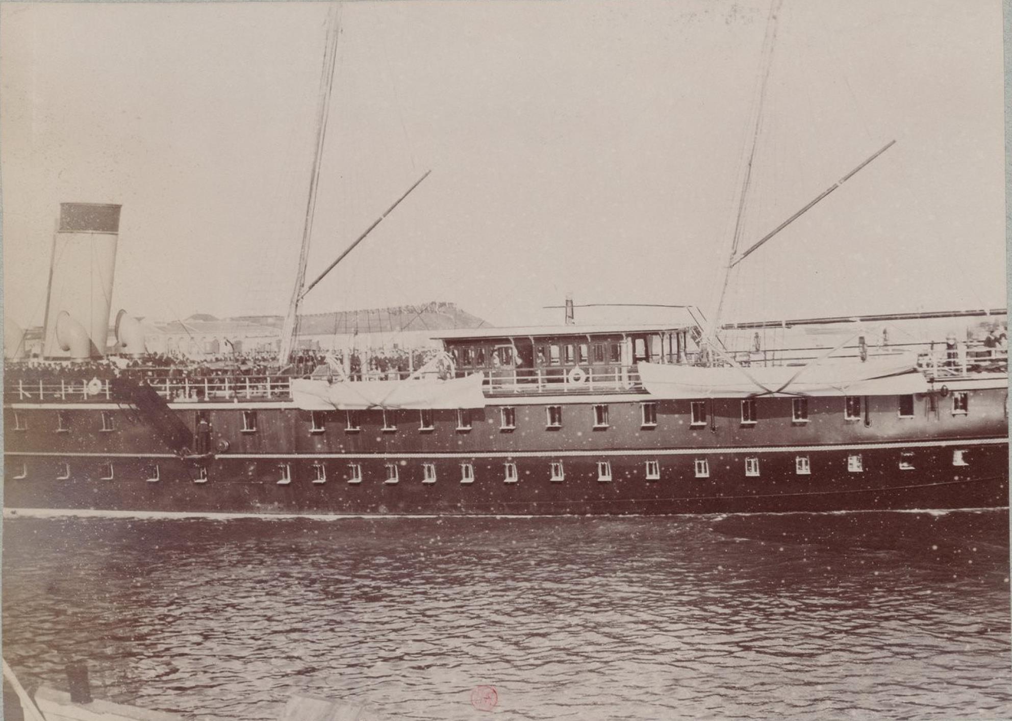 06.  Императорская яхта «Полярная звезда»