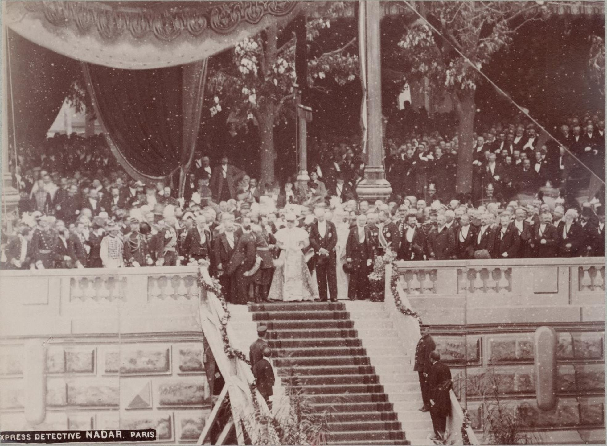 23. Торжественная закладка моста императора Александра III через Сену