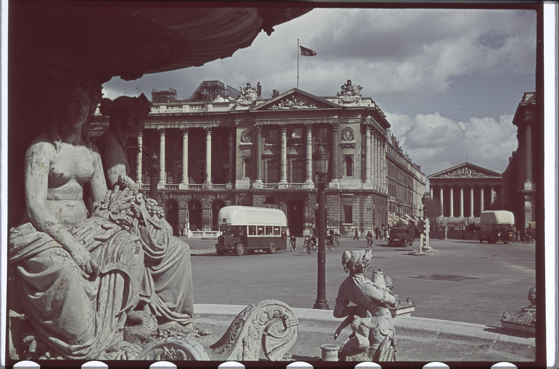 На площади Согласия