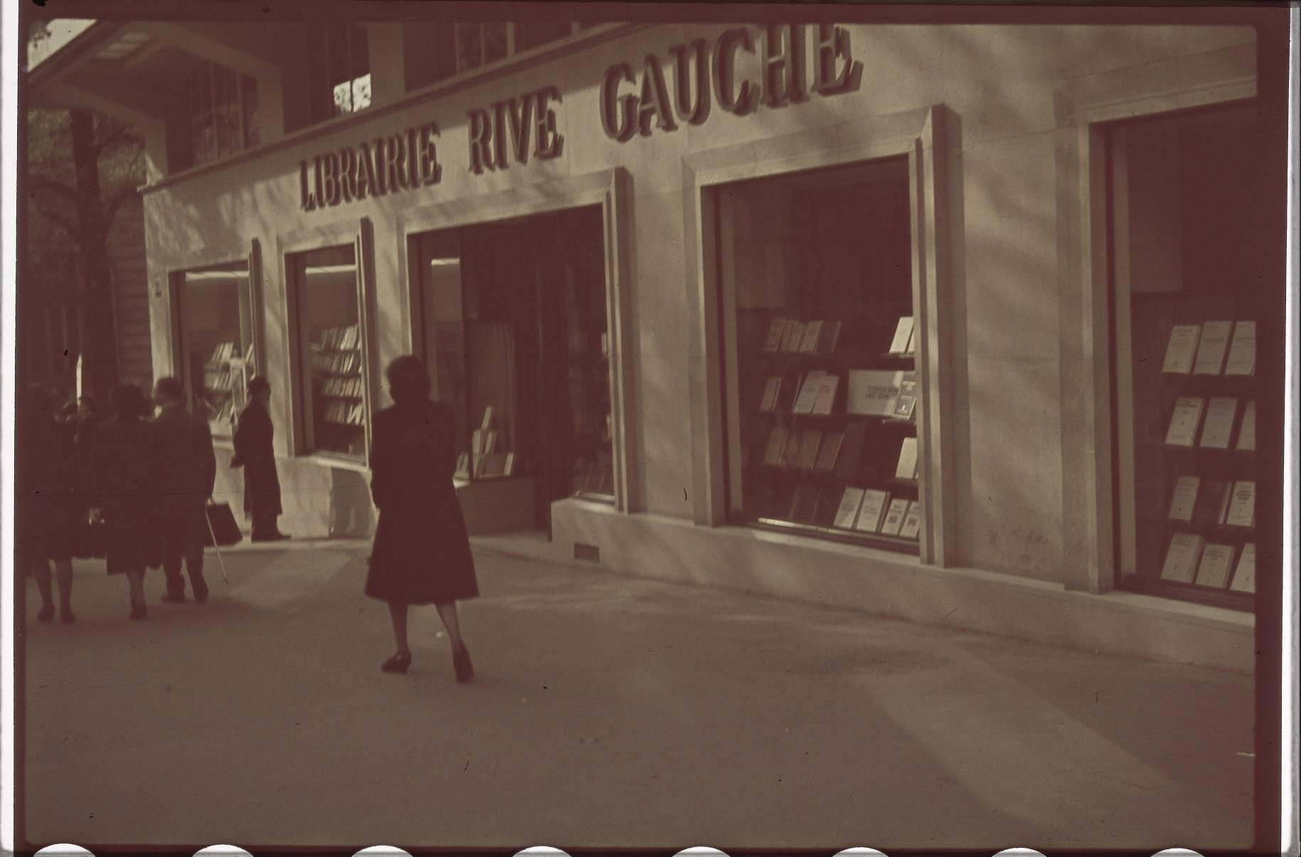Немецкий книжный магазин «Рив Гош», бульвар Сен-Мишель