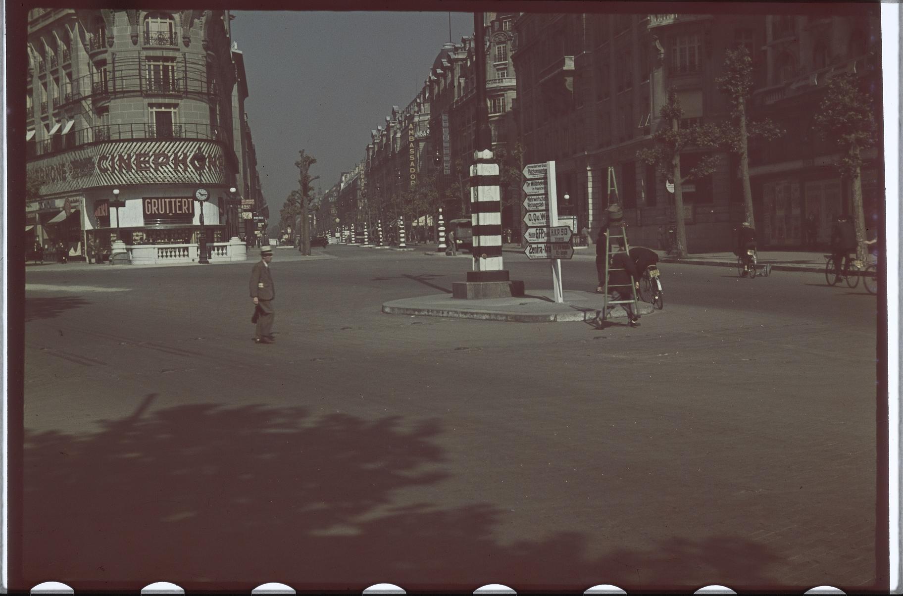 Пересечение улицы Друо и Гран-Бульвар