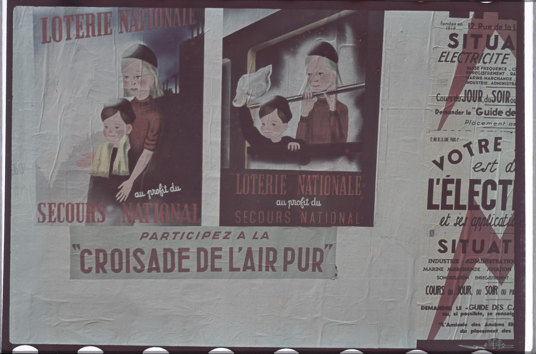 Плакат против трущоб. Крестовый поход за чистый воздух