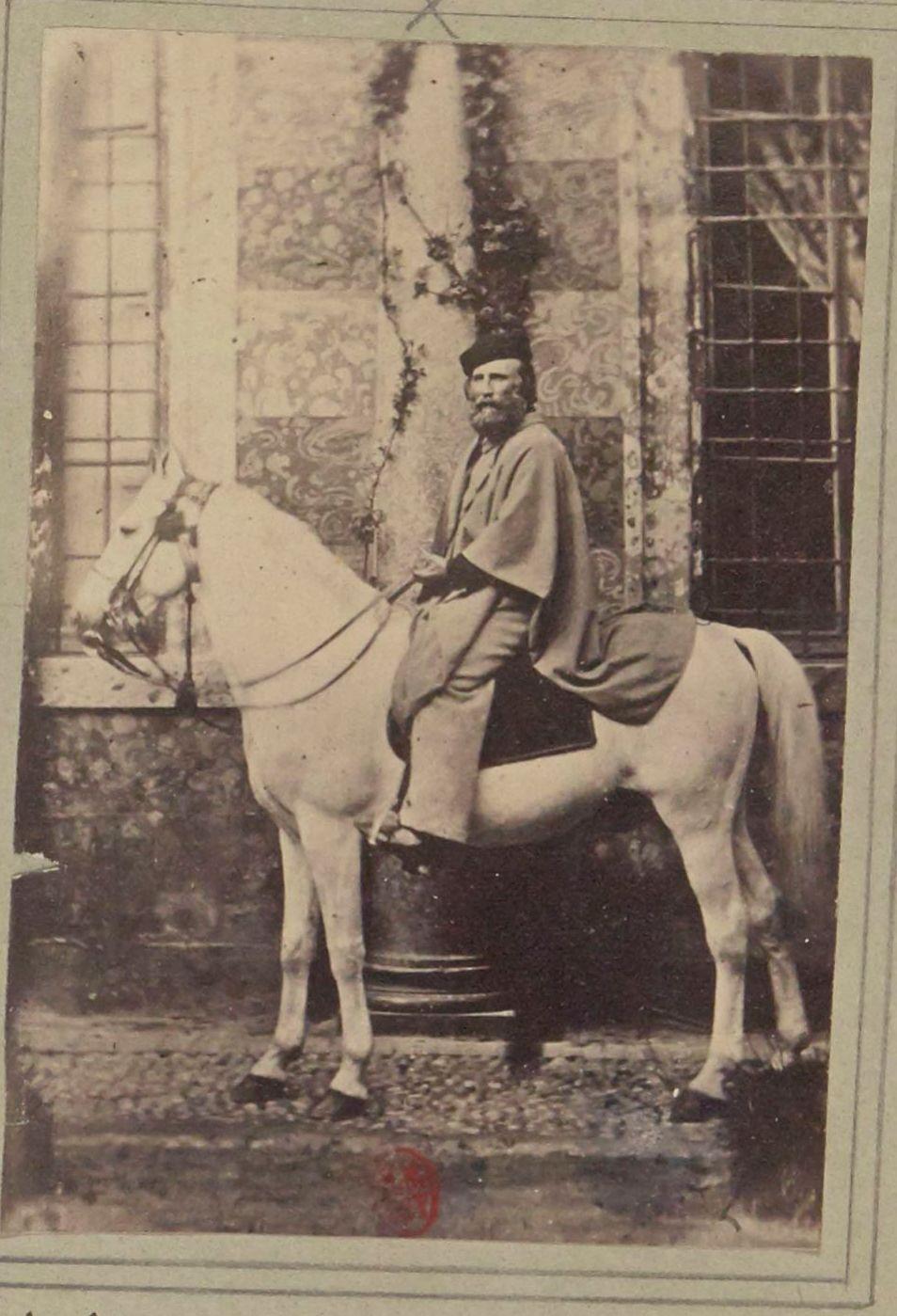 1861. Джузеппе Гарибальди(4 июля 1807, Ницца — 2 июня 1882, остров Капрера) — итальянский полководец, революционер и политический деятель