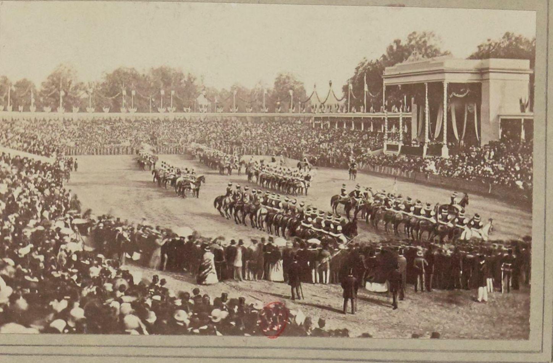 1868. Свадьба принца Умберто и  Маргариты Савойской во Флоренции