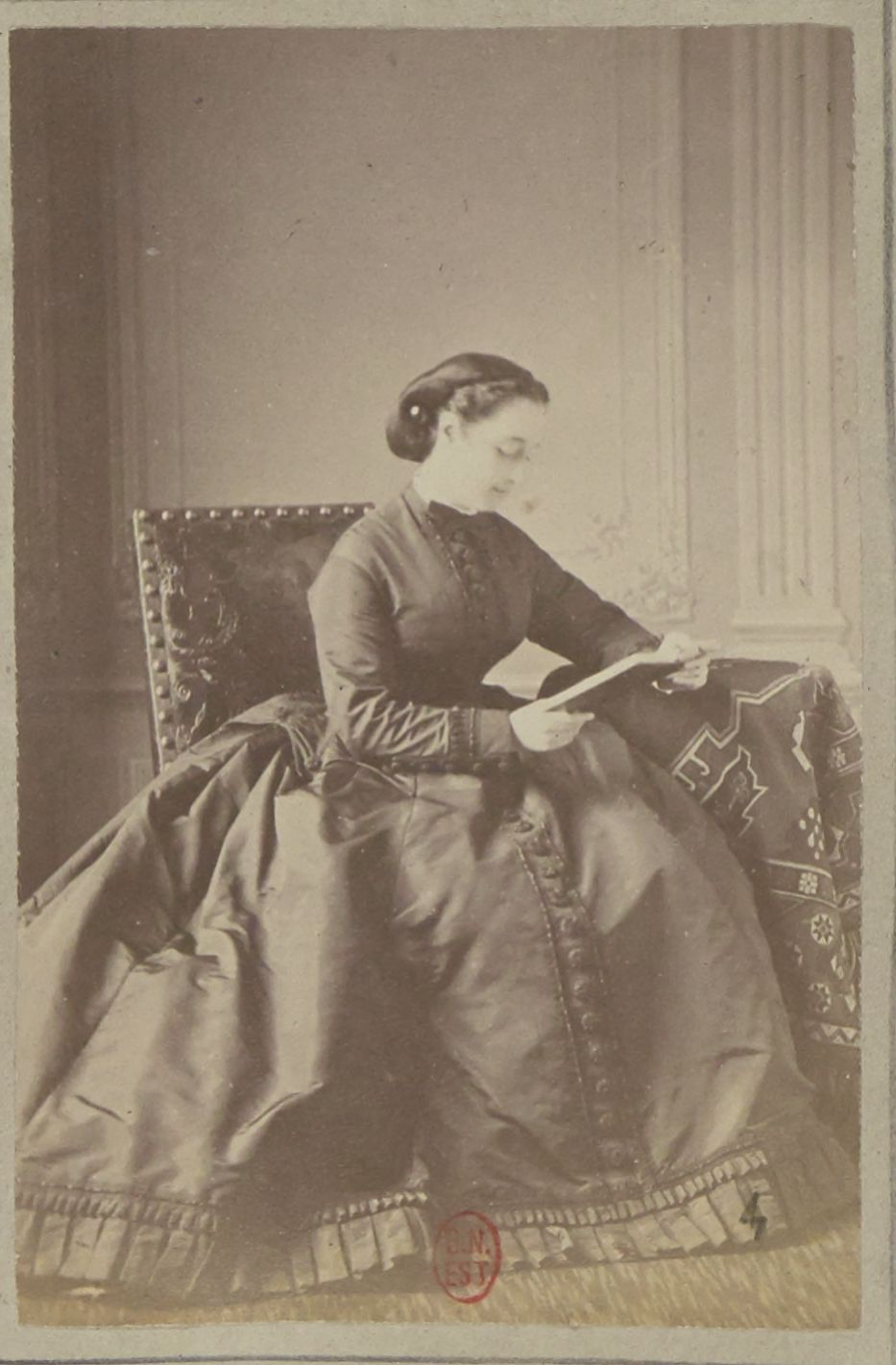 Императрица Евге́ния (5 мая 1826 — 11 июля 1920) — последняя императрица Франции, супруга Наполеона III