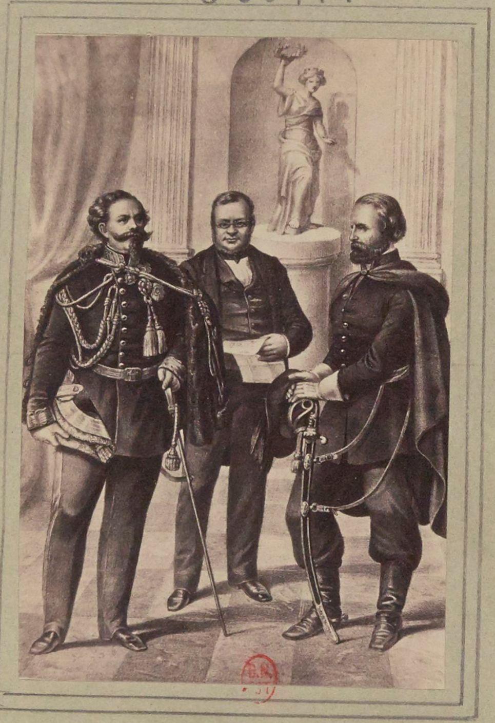 Министр, солдат и король Италии