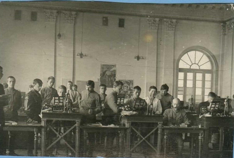 1919. Телеграфисты Юго-Восточного фронта