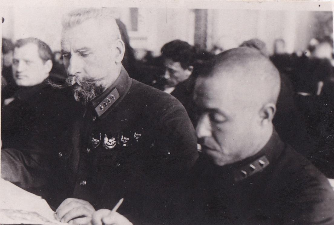 1929.  Я.Ф.Фабрициус на заседании съезда ВКПб.