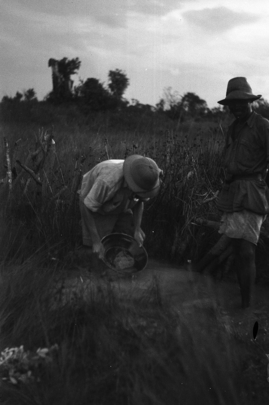 Капири Мпоши. Старатель ищет золото в Бахсанде