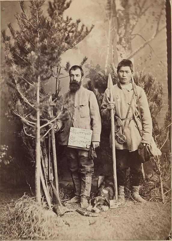 Жозеф Наполеон Мартен с тунгусом