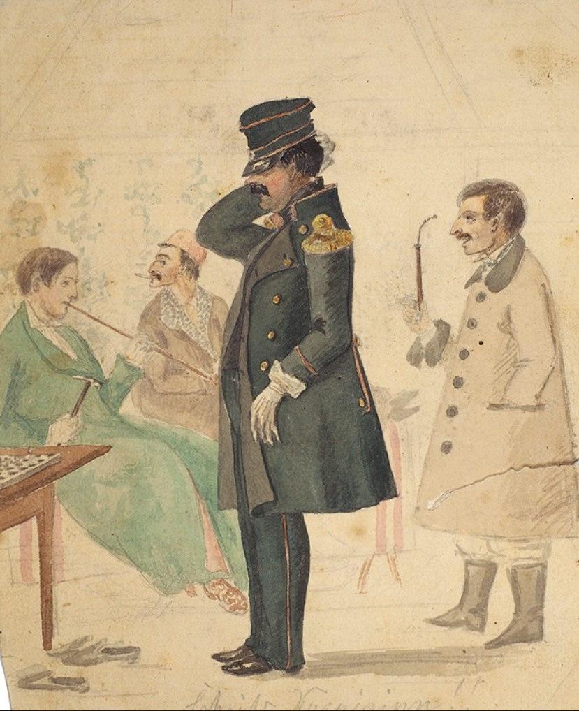 Пётр Иванович Рикорд (1776-1855), мореплаватель, адмирал, член-корреспондент Академии Наук, председатель Морского учёного комитета