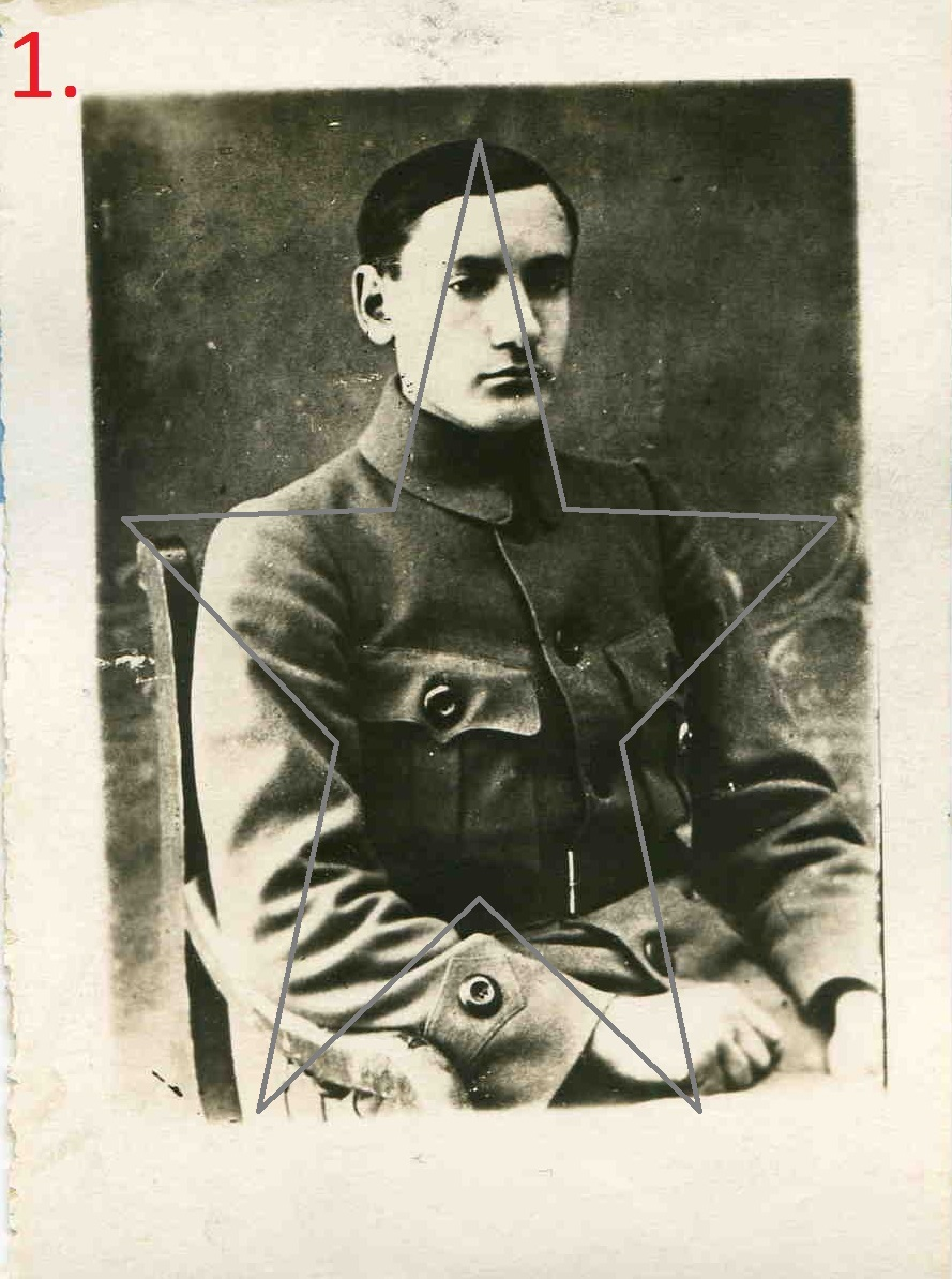 1918. Председатель ЧК Ядринского уезда. Чувашия