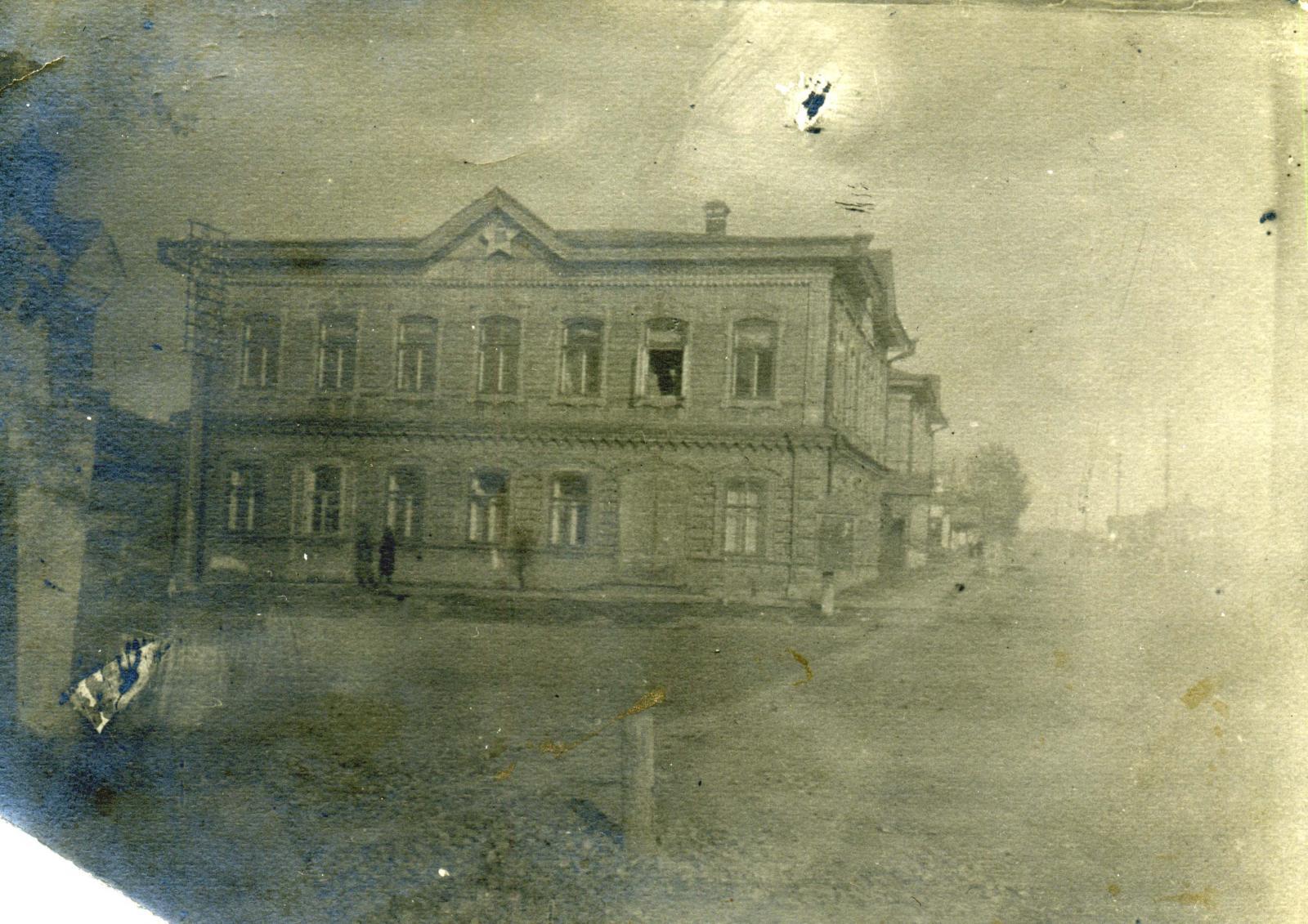 Здание ОГПУ г. Ачинска