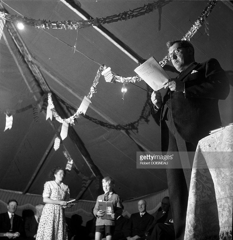 1947. Выступление Юджина Бухера. Резо
