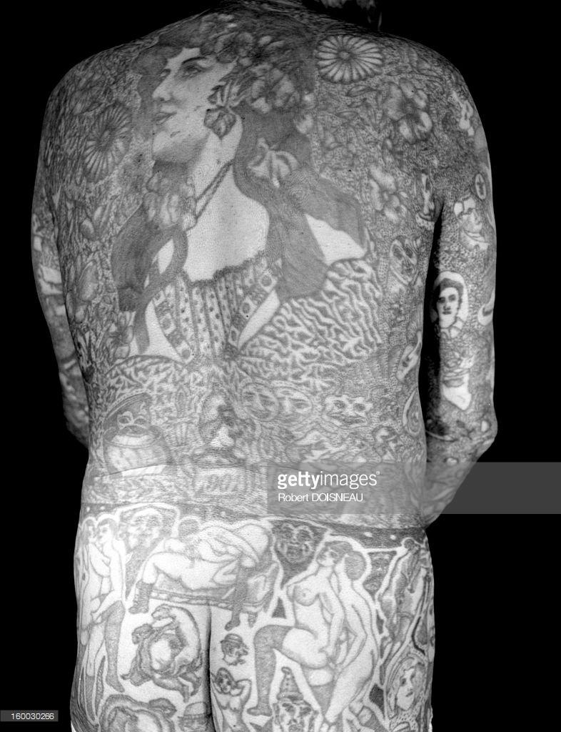 1950. Татуированная спина Ричардо