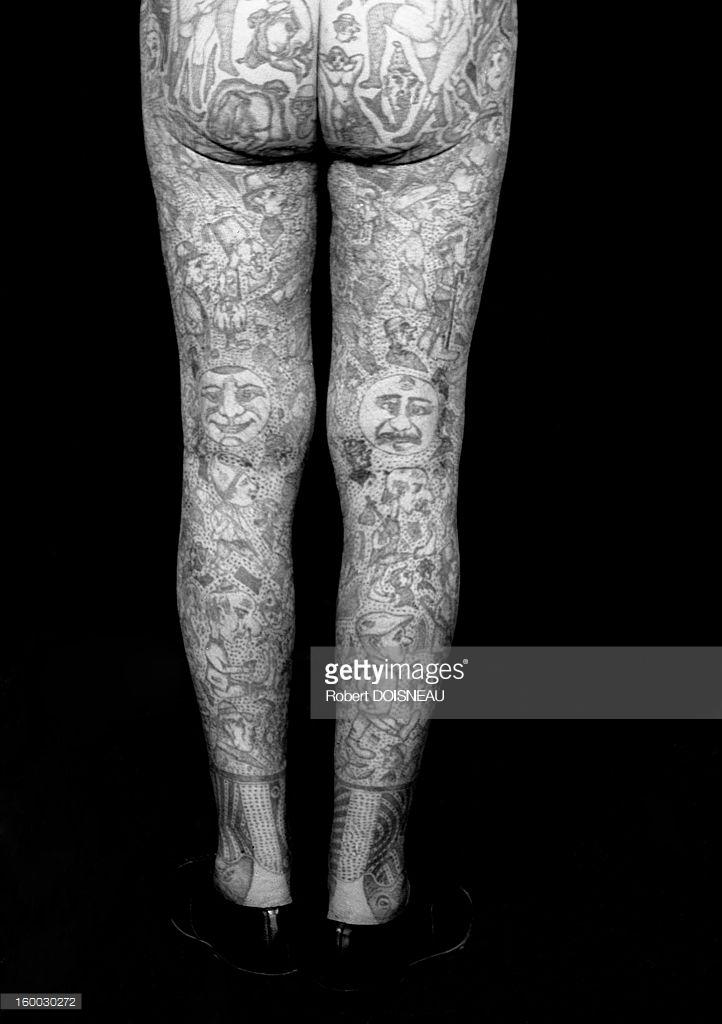 1950. Татуированные ноги Ричардо
