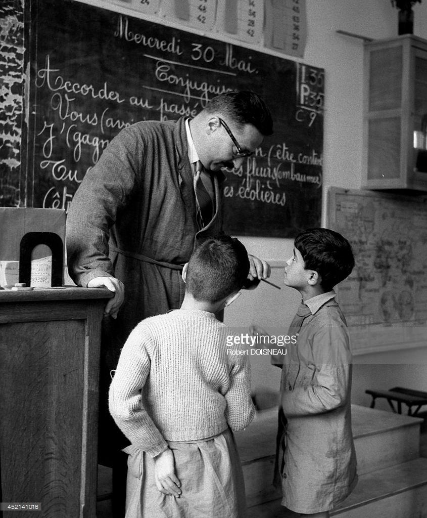 1956. Урок в школе на улице Буффона