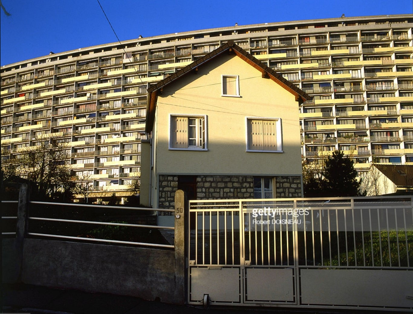 1984. Построенный по новому проекту дом в Аржантее