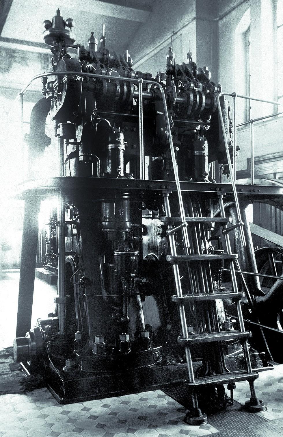 Техническое оборудование омского городского водопровода. 1915