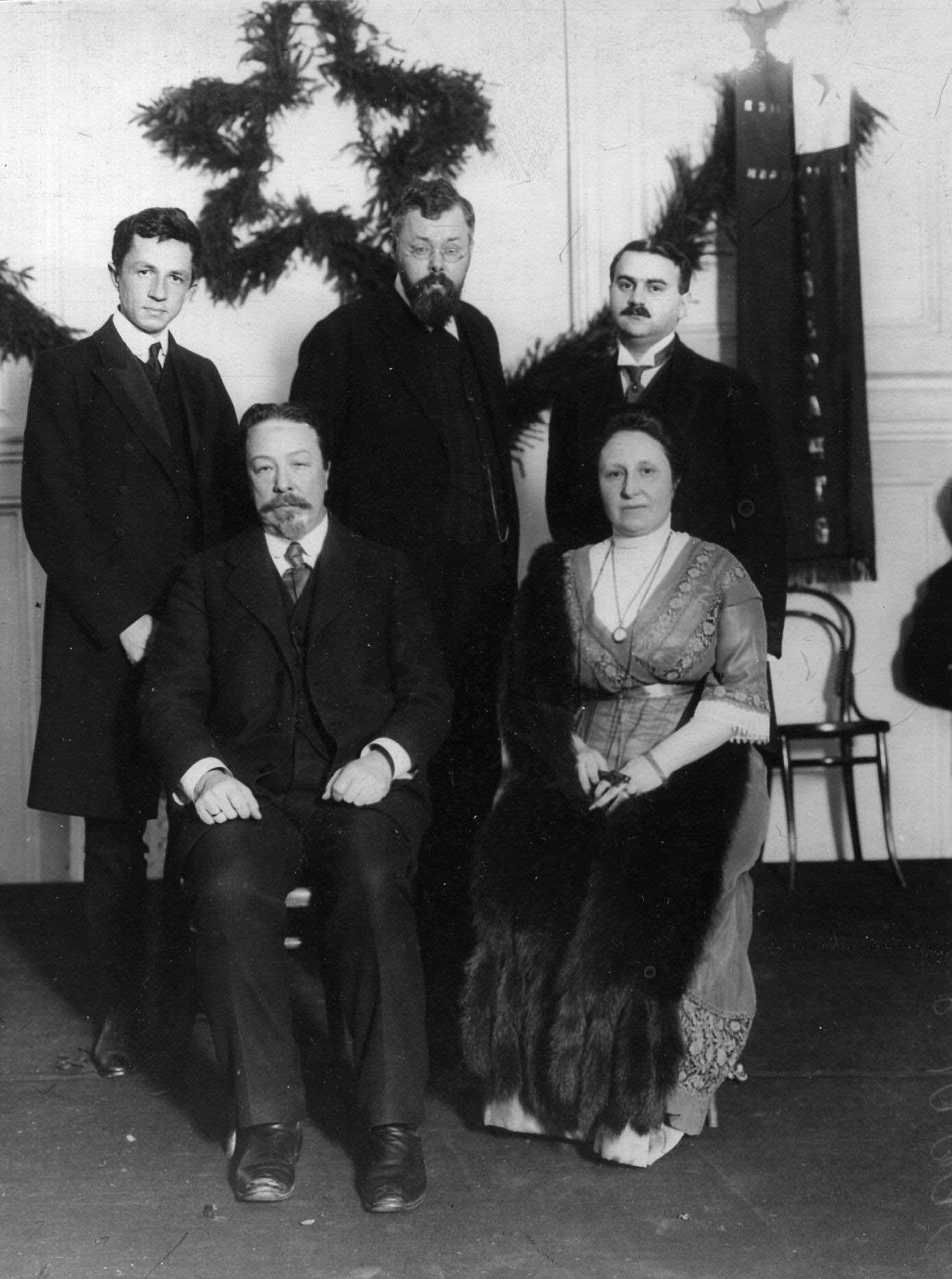 09. Группа членов кружка эсперантистов