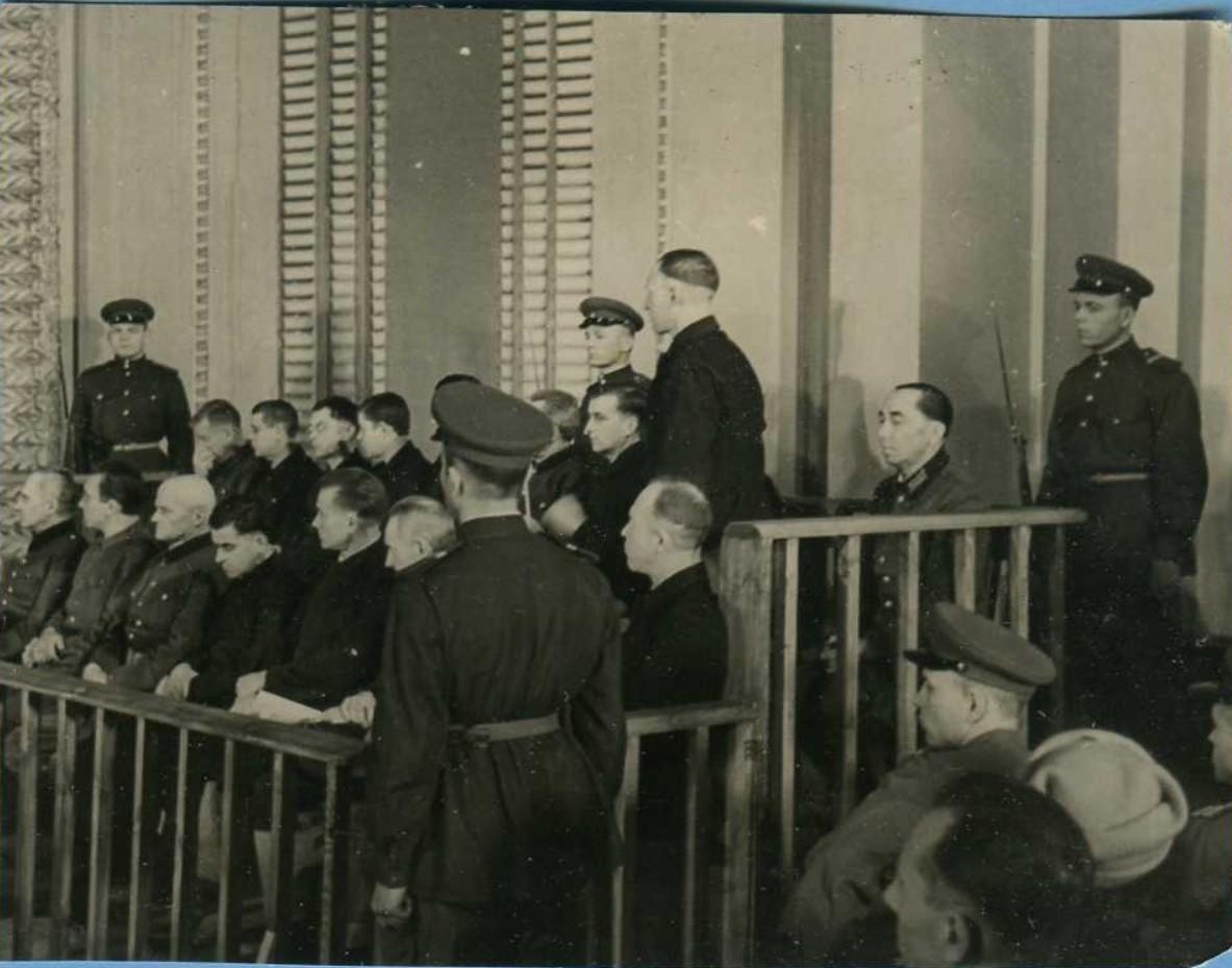 1946. На скамье подсудимых. БССР. 24.1. (3)
