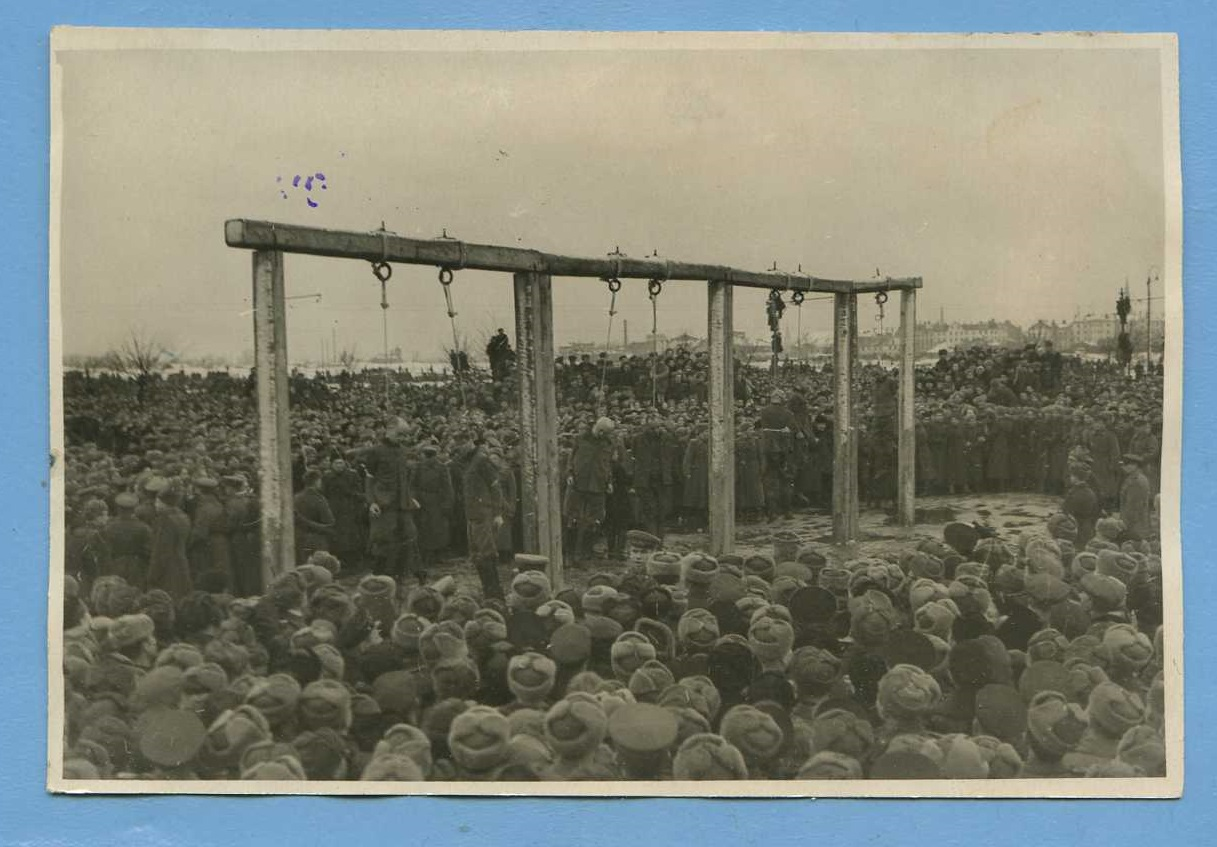 1946. Приведение приговора в исполнение. Рига,