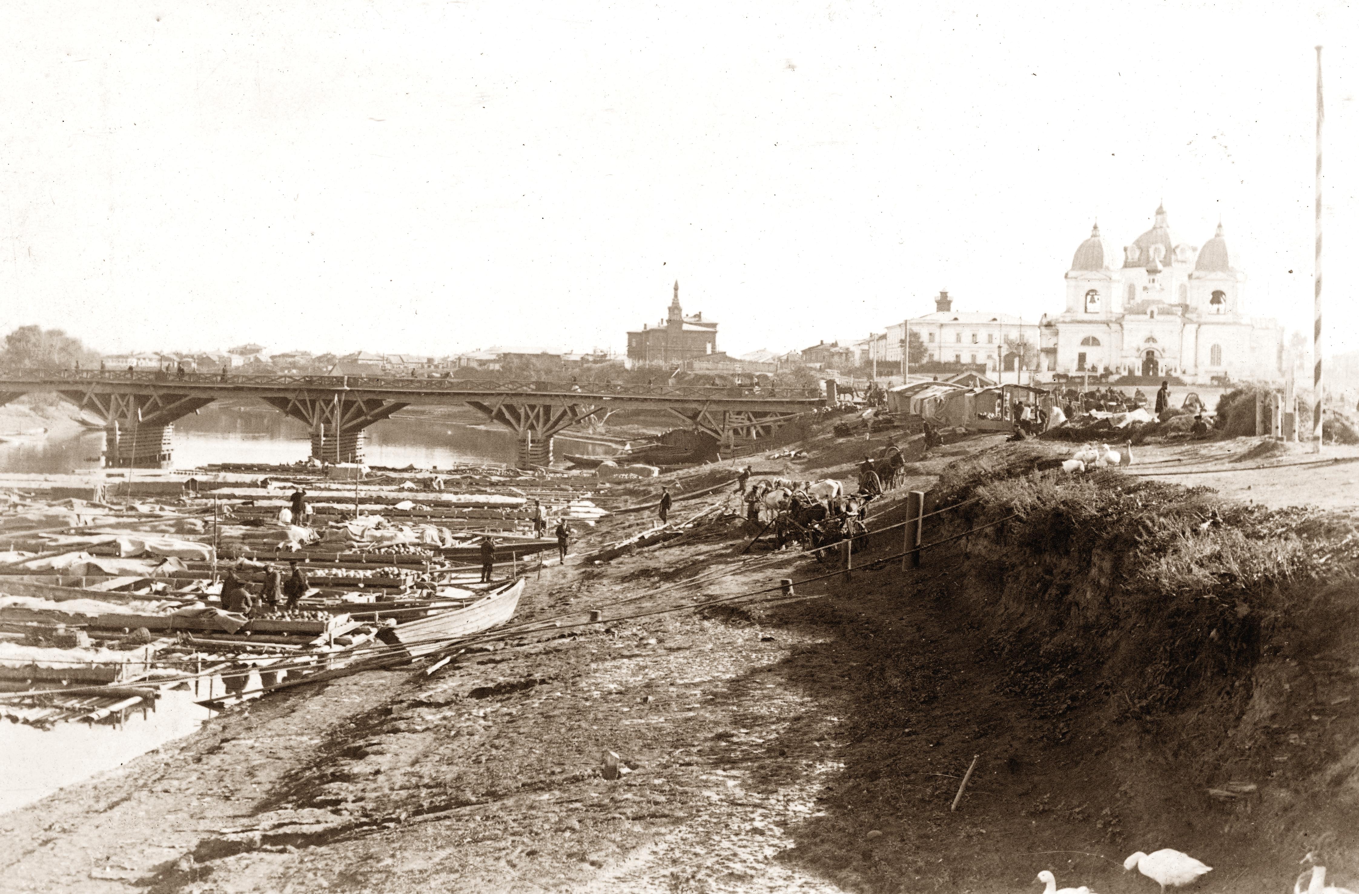 Вид на мост и Ильинскую церковь
