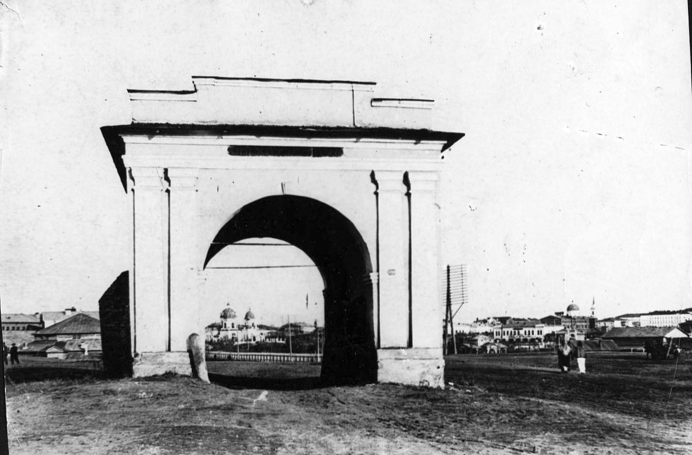 Омские крепостные ворот