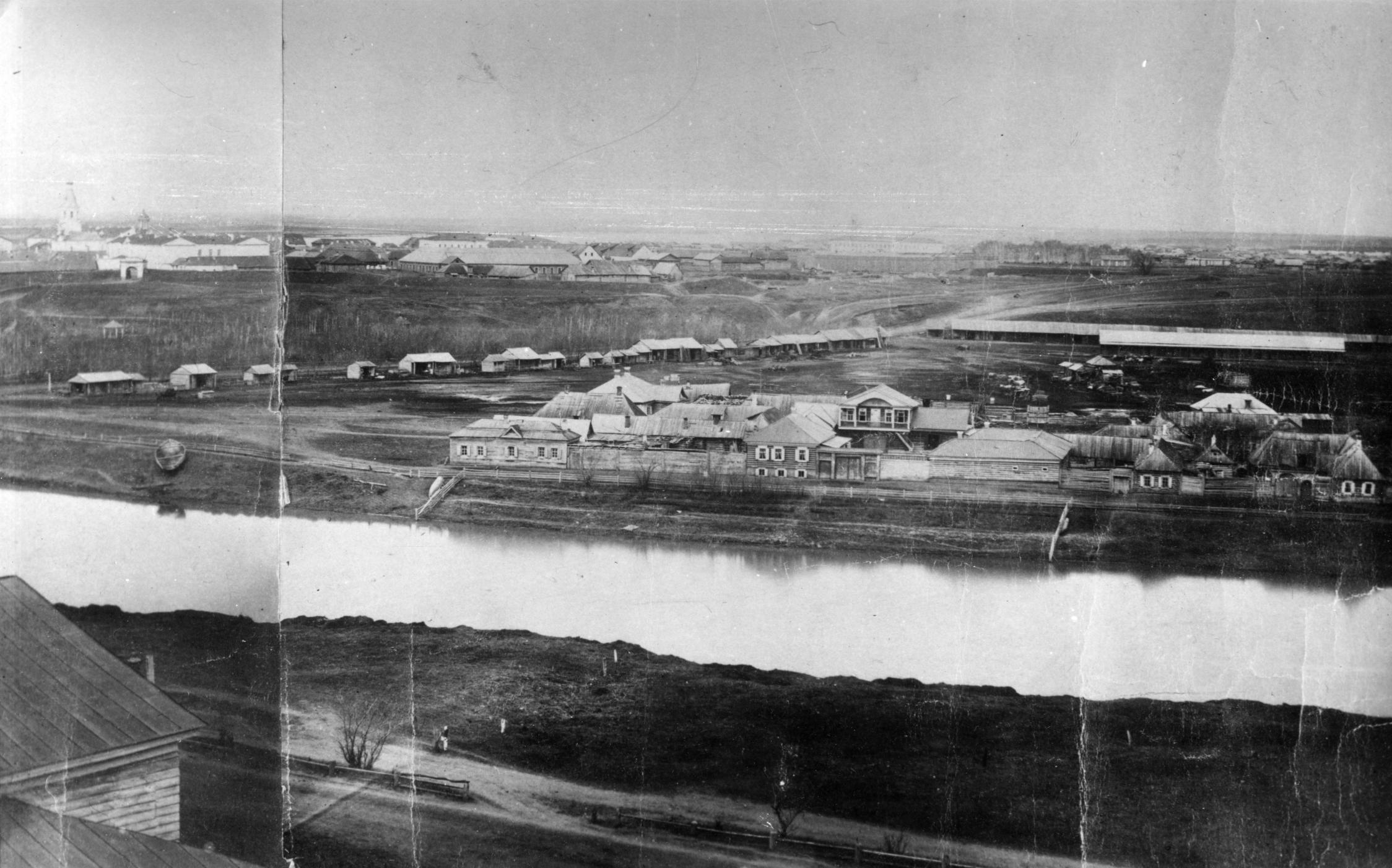 Фрагмент панорамы. 1862