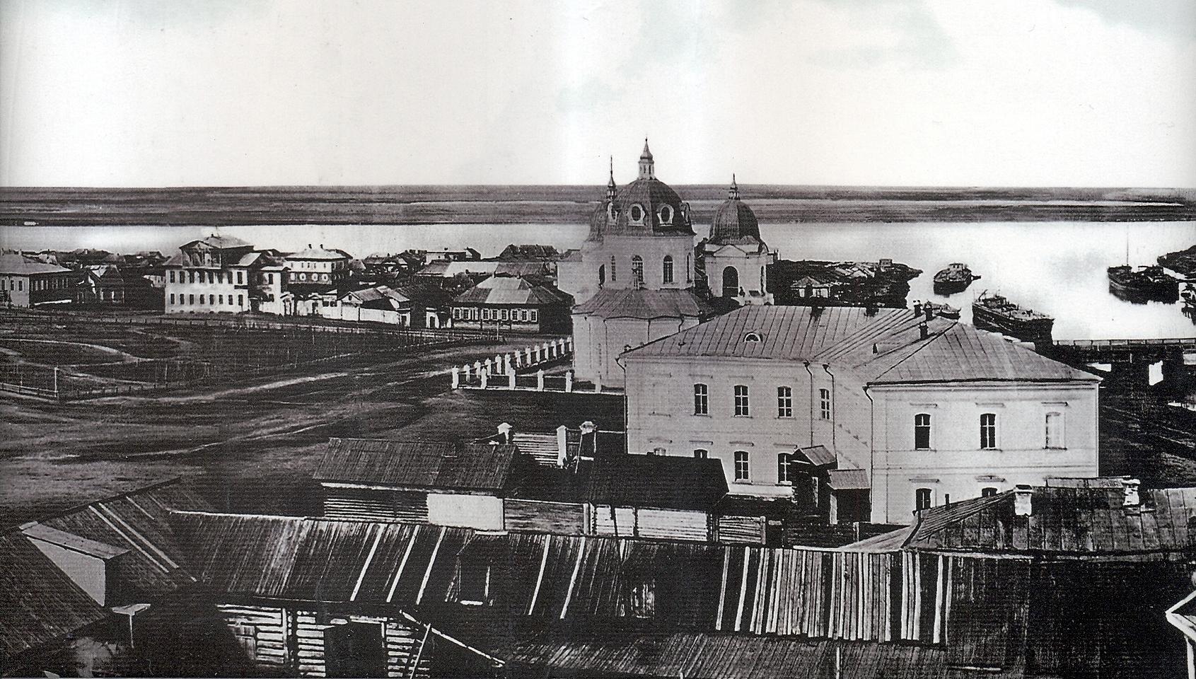 Центральная часть панорамы 1862